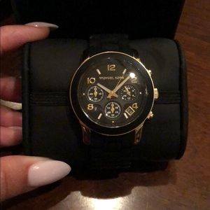 Matte black Michael Kors Watch